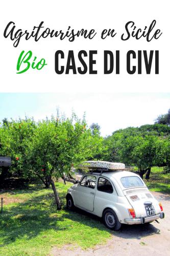 Case di Civi un agritourisme bio en Sicile