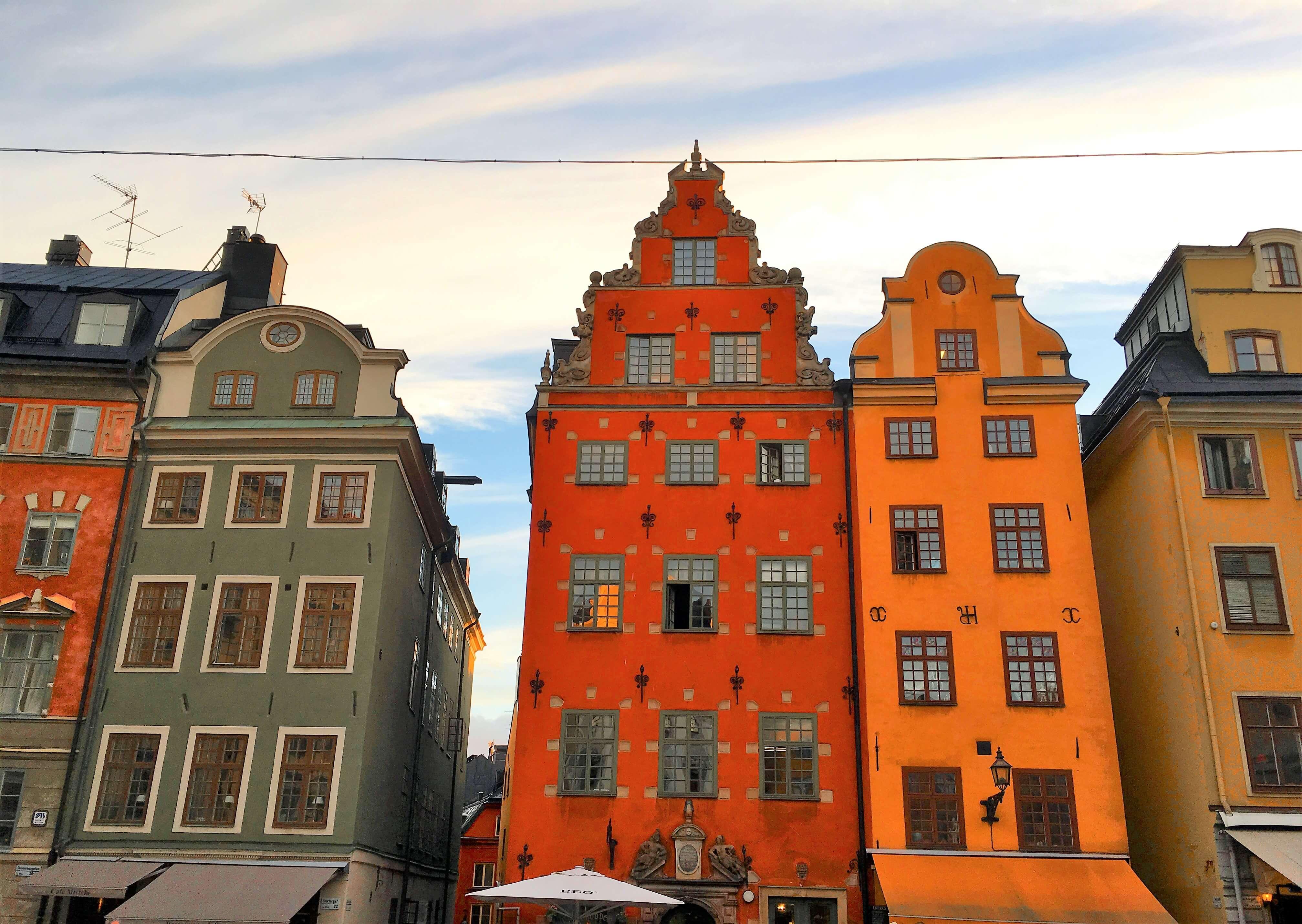 Gamla Stan Stortorget Vieille ville de Stockholm