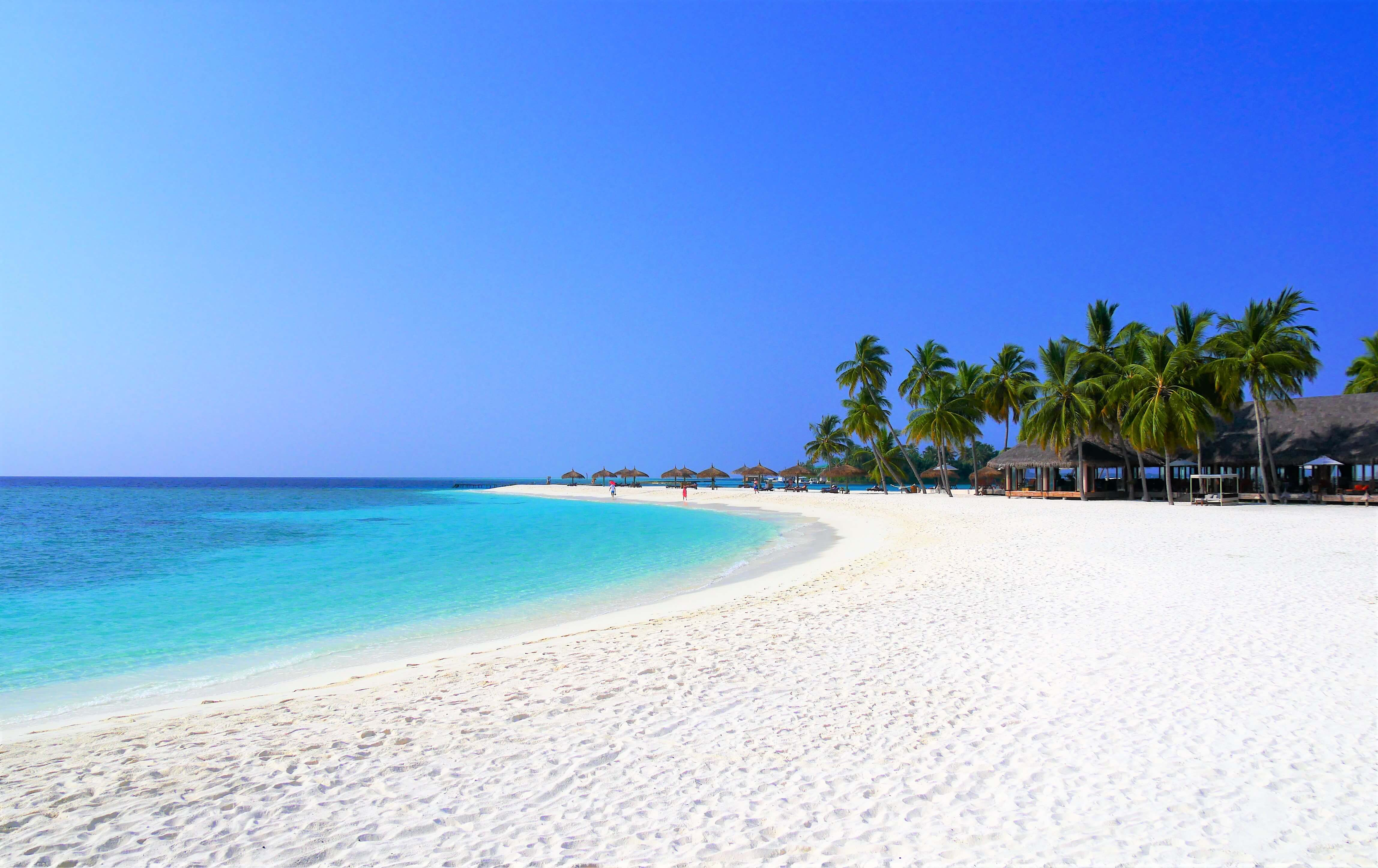 Belle plage ile Maldives