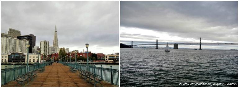 Visiter San Francisco en 1 jour en passant par le Pier 7 à Embarcadero