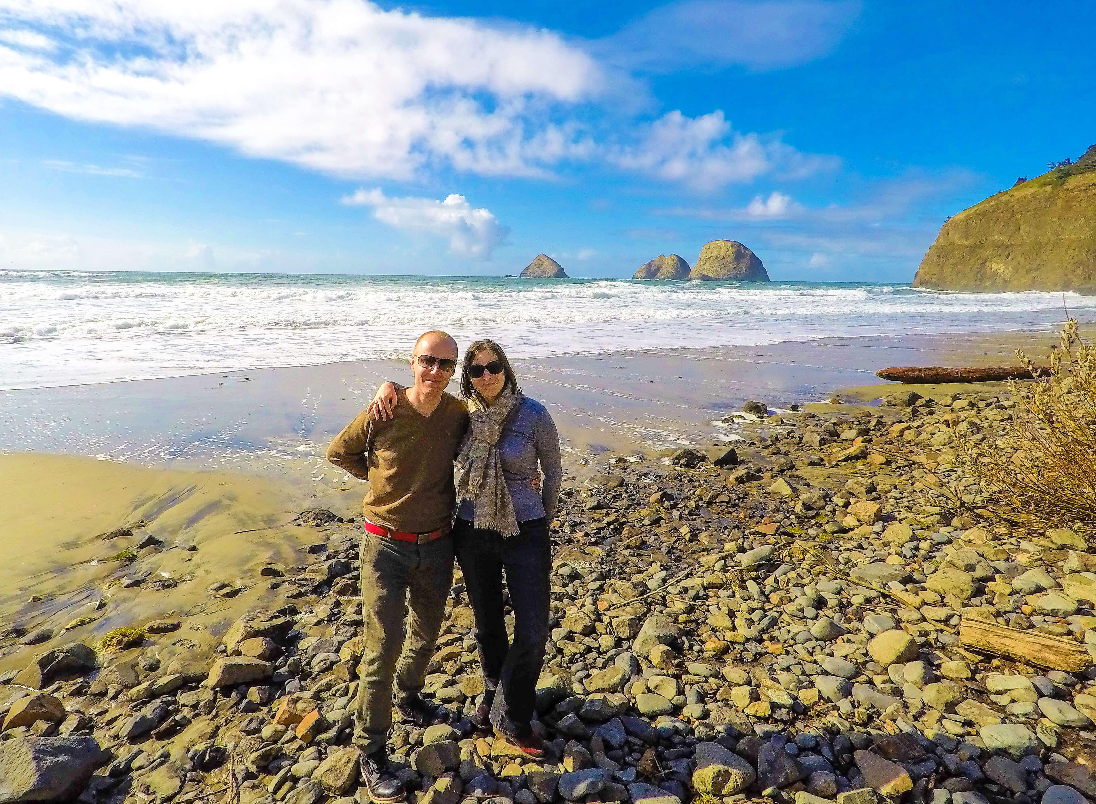 Plage Oceanside en Oregon