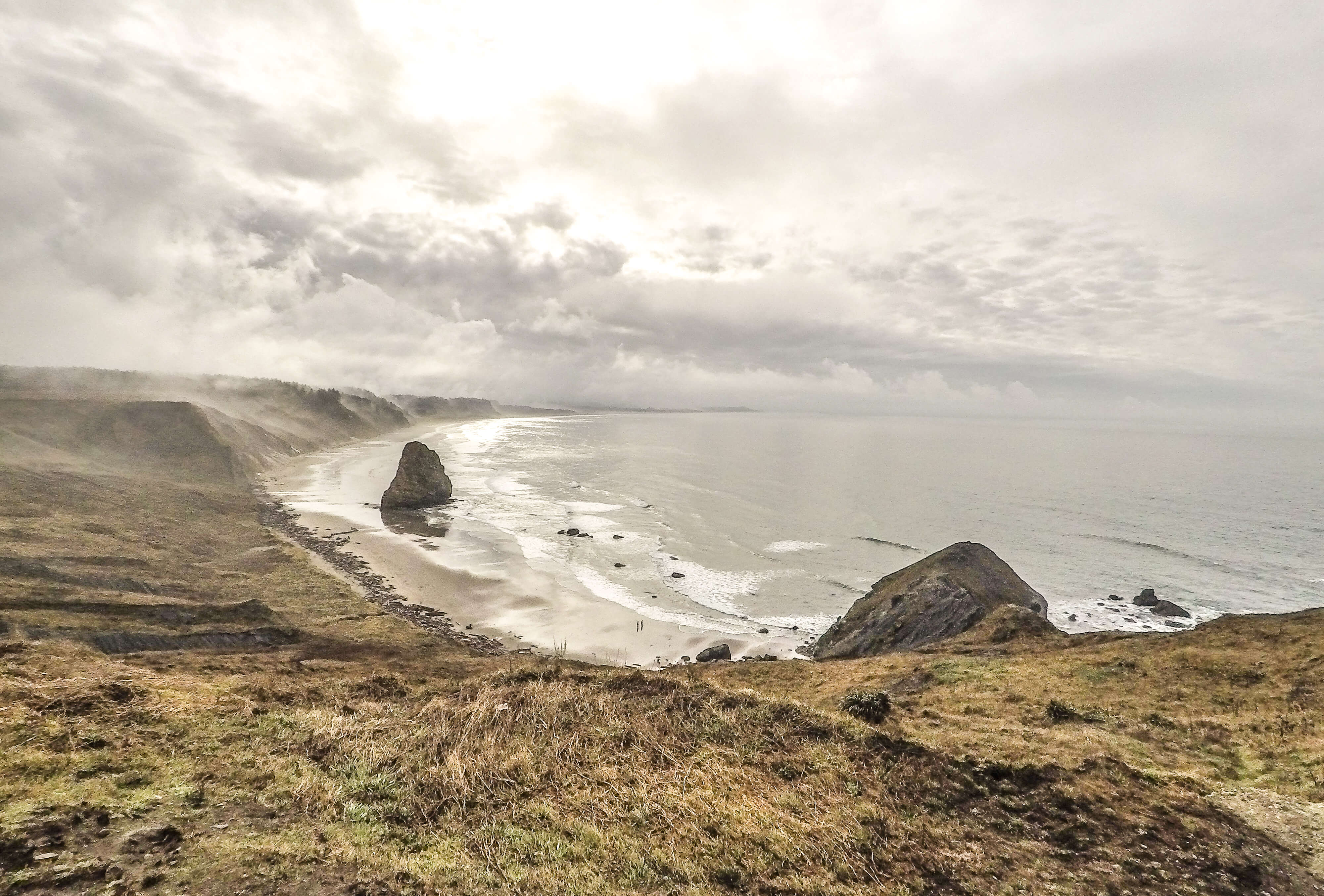 Vue depuis Cape Blanco en Oregon