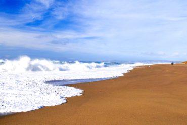 North Beach Point Reyes Road trip Californie du Nord