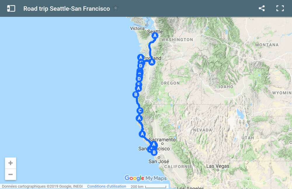 Road trip Oregon et Californie du Nord