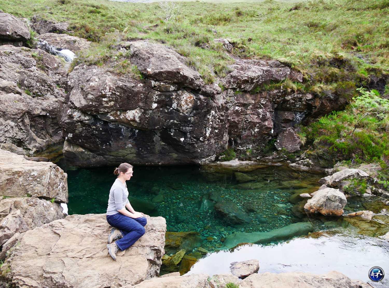 Fairy Pools sur l'Ile de Skye