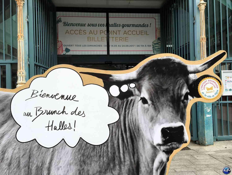 Les halles de Dijon pour un brunch et visiter Dijon côté gourmand
