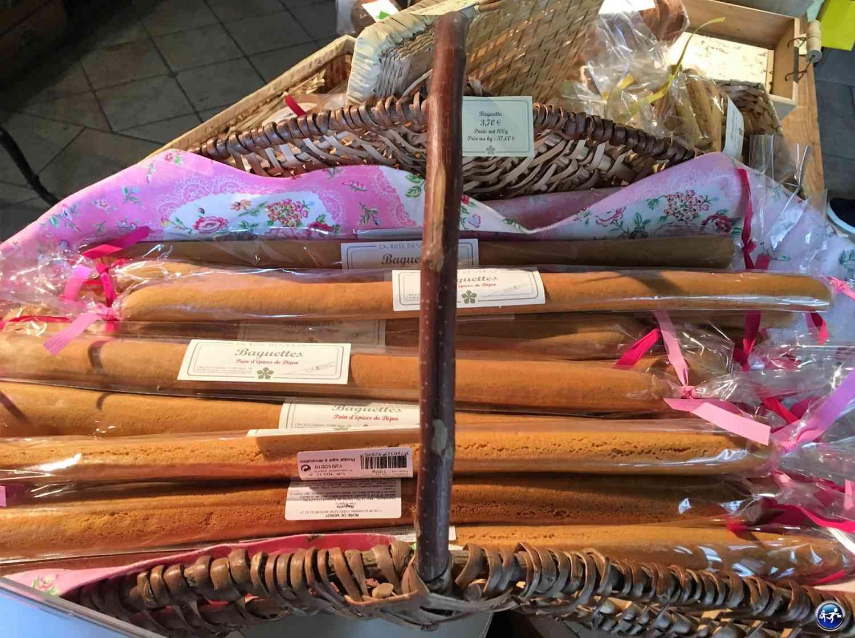 Le pain d'épice de Rose Vergy à Dijon