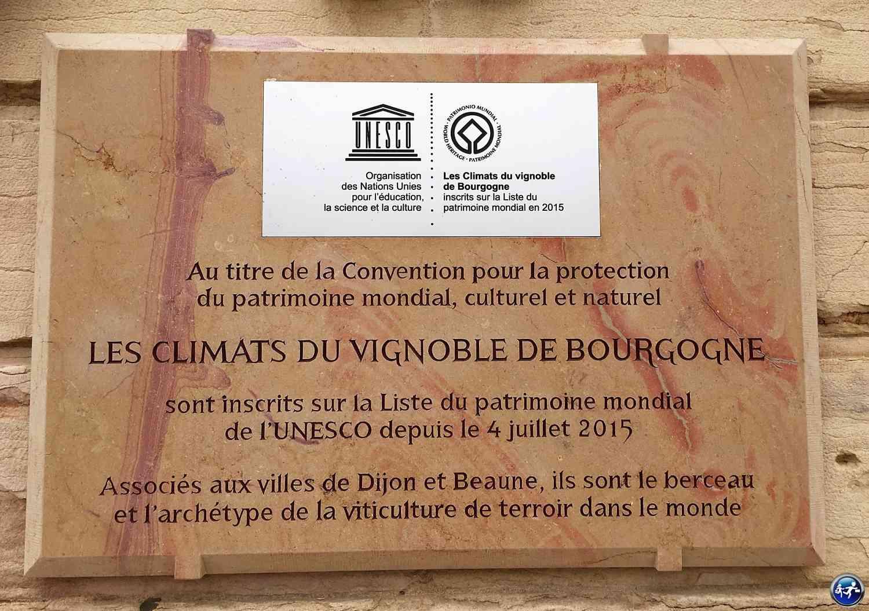 Lec Climats du vignoble de Bourgogne sont à l'UNESCO