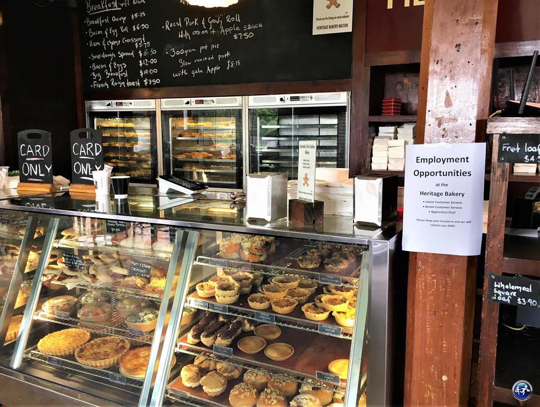 Faire un stop dans une boulangerie pour du bon pain