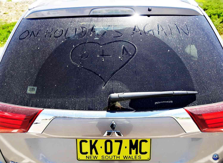 Notre SUV poussiéreux pour conduire en Australie