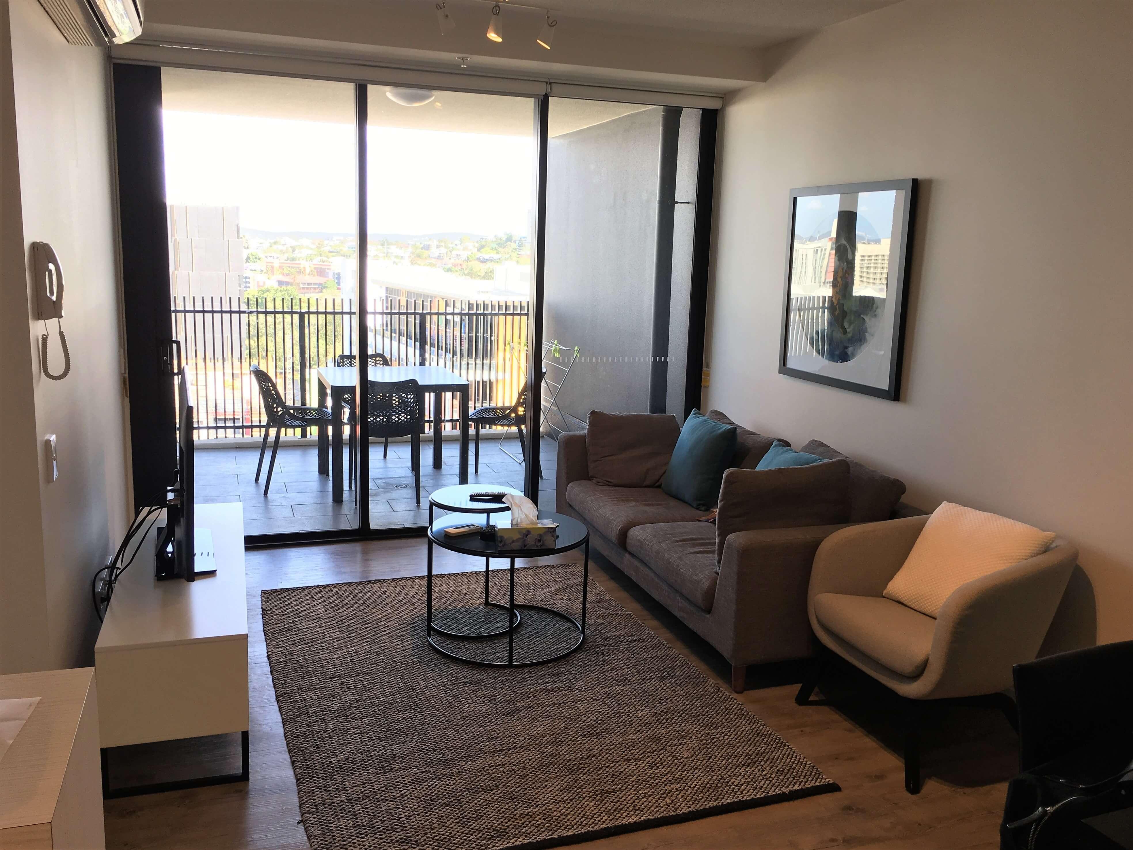 Appartement à Brisbane pour un tourdumondiste cosy