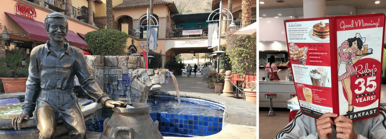 Le Ruby's Diner à Palm Springs en Californie du Sud