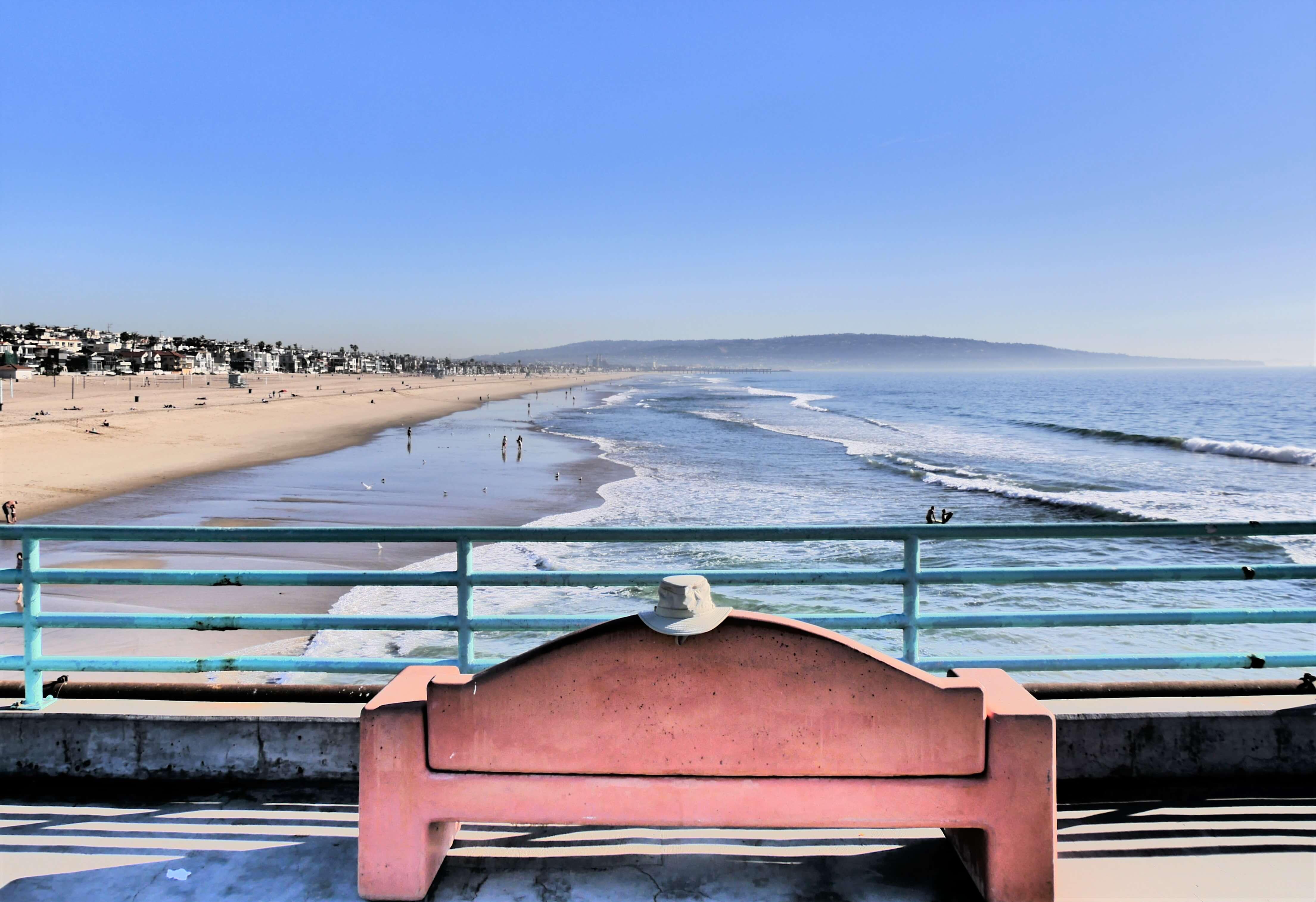 Manhattan Beach à Los Angeles en Californie du Sud