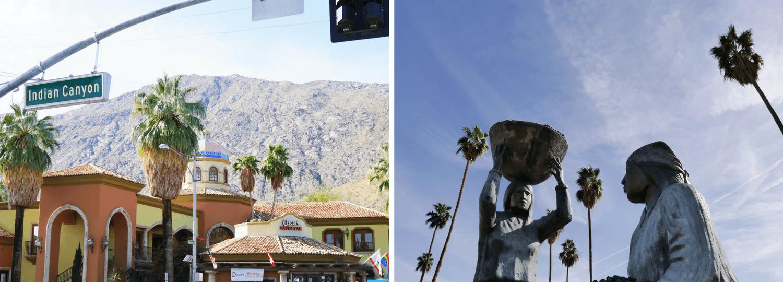 Palm Springs en Californie du Sud et son héritage indien