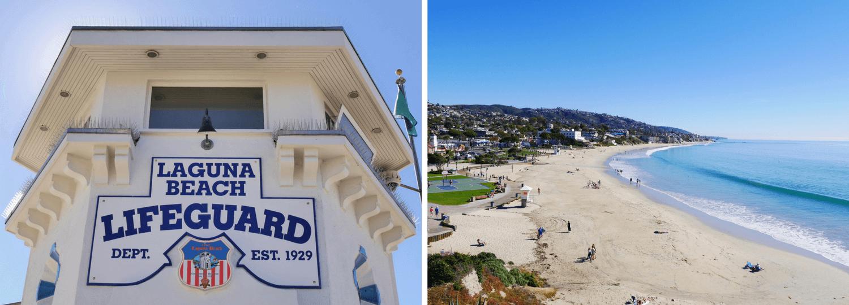 Road Trip en Californie du Sud avec un stop à Laguna Beach