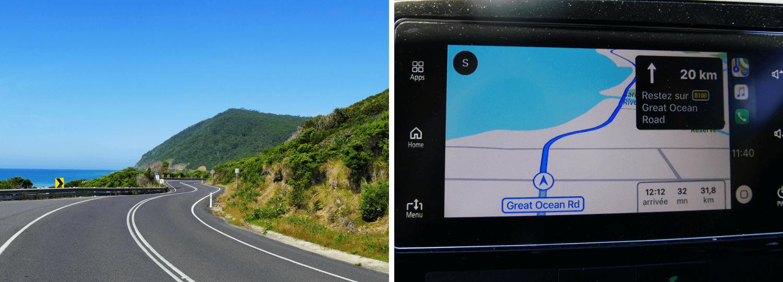 Sur la Great Ocean Road pour un tourdumondiste