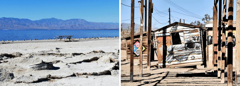 Le Salton Sea et Bombay Beach en Californie du Sud