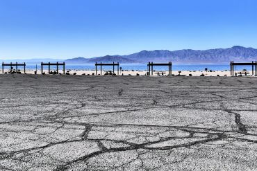 Salton Sea en Californie du Sud