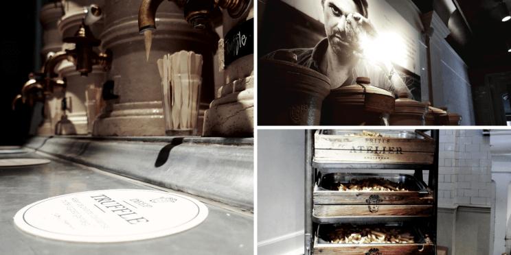Adresse gourmande à Anvers à Frites Atelier où manger des frites de luxe