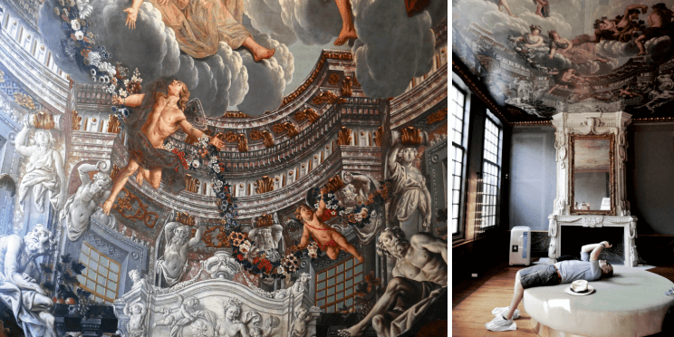 Visiter Anvers baroque et la belle fresque de De Hofkamer au Den Wolsack