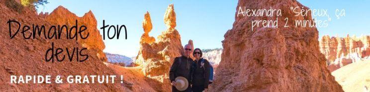 Bryce Canyon devis