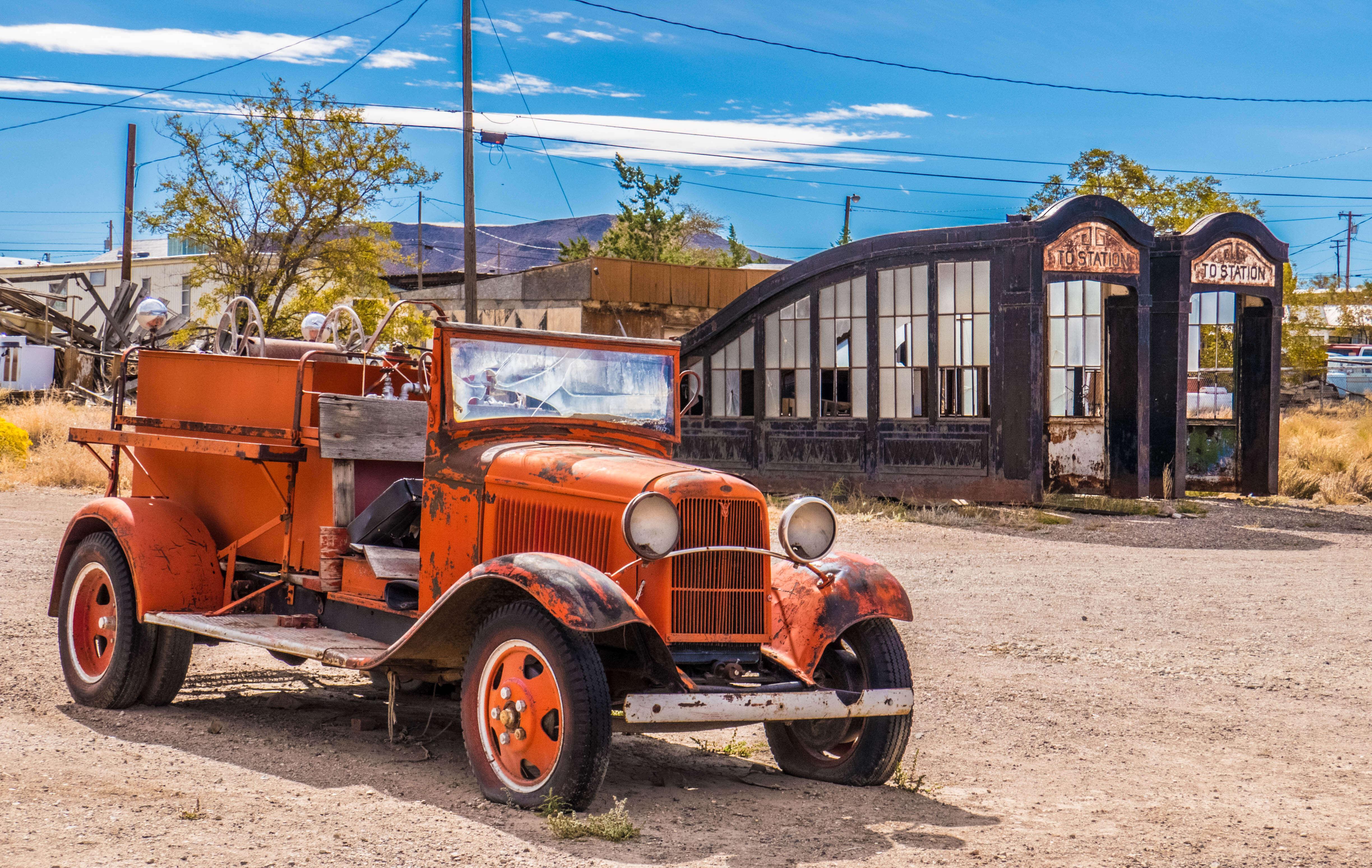 La ville fantôme de Goldfield dans le Nevada