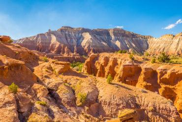 Paysage du parc d'état de Kodachrome Basin en Utah