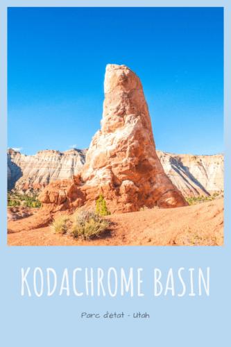 Visiter Kodachrome Basin en Utah Pinterest