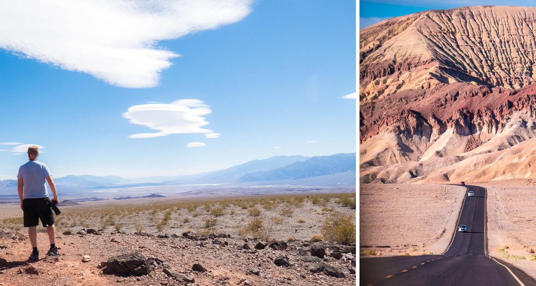 Visiter la Vallée de la Mort dans le Nevada