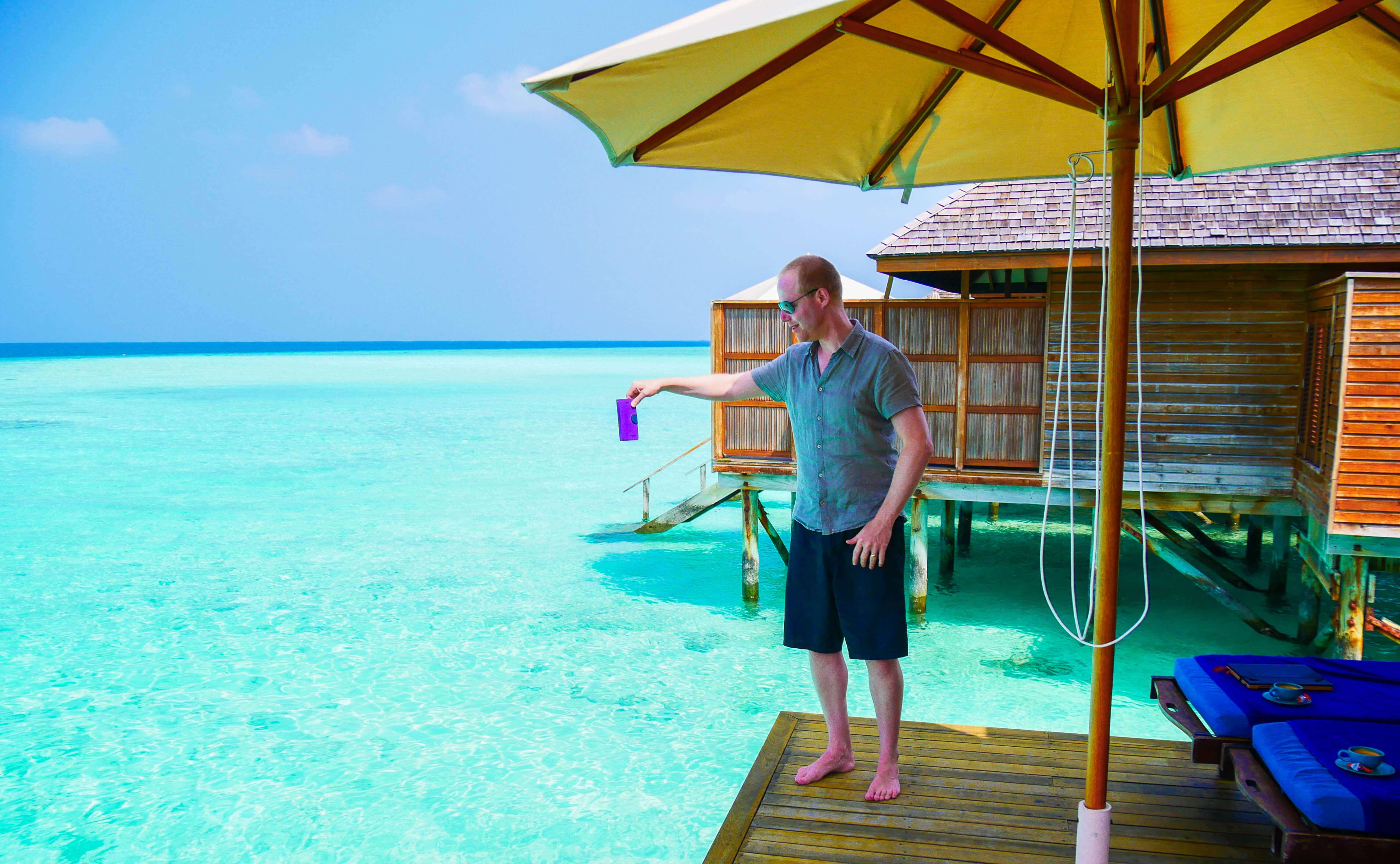 Digital detox pendant ses vacances aux Maldives