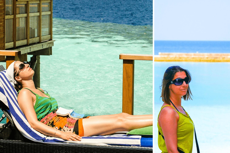 Habits femme pour ses vacances aux Maldives