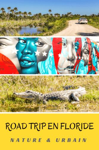 Road trip en Floride Pinterest