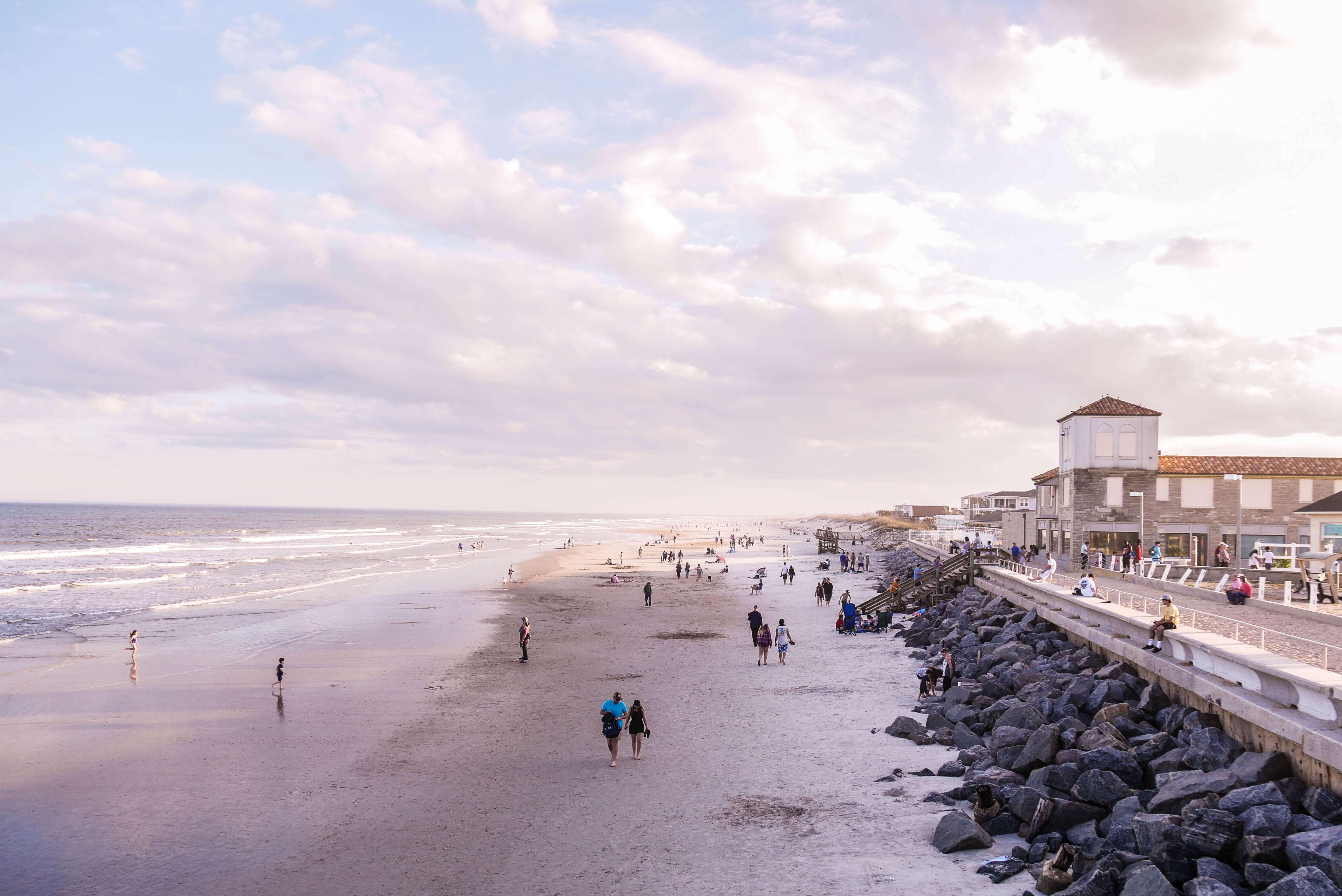 St Augustine Beach en Floride