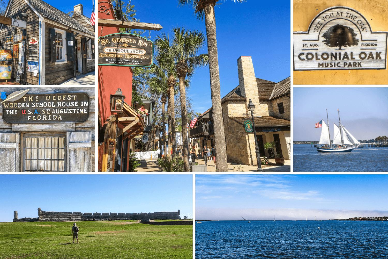 Visiter St Augustine et vur sur l'océan en Floride