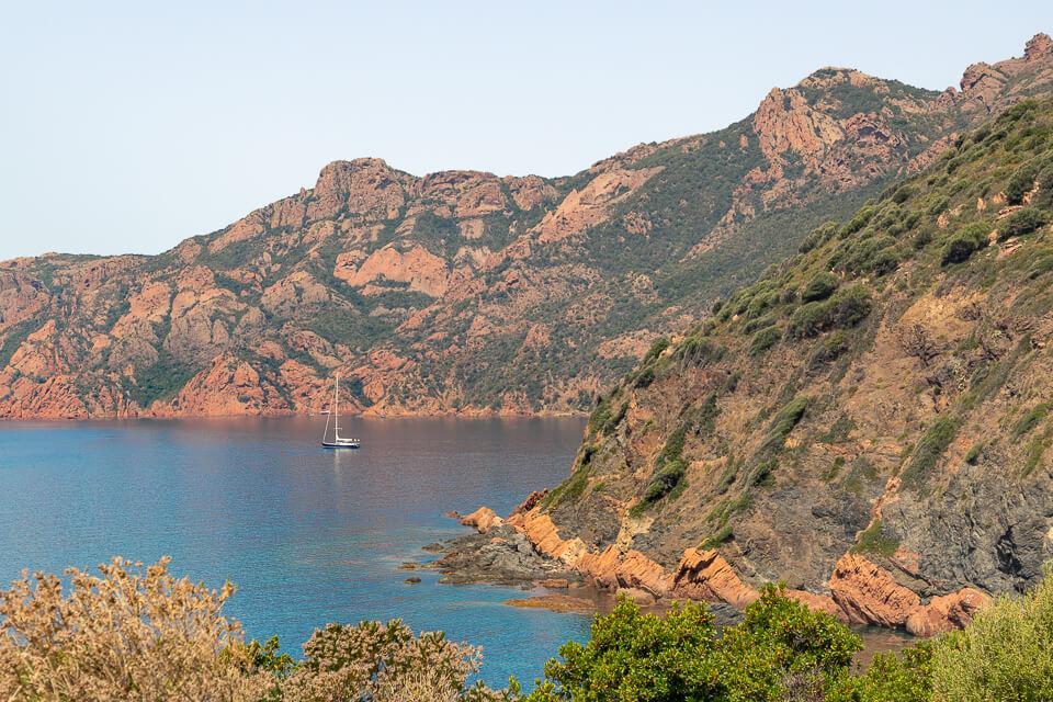 Visiter la Corse Réserve de Scandola Girolata