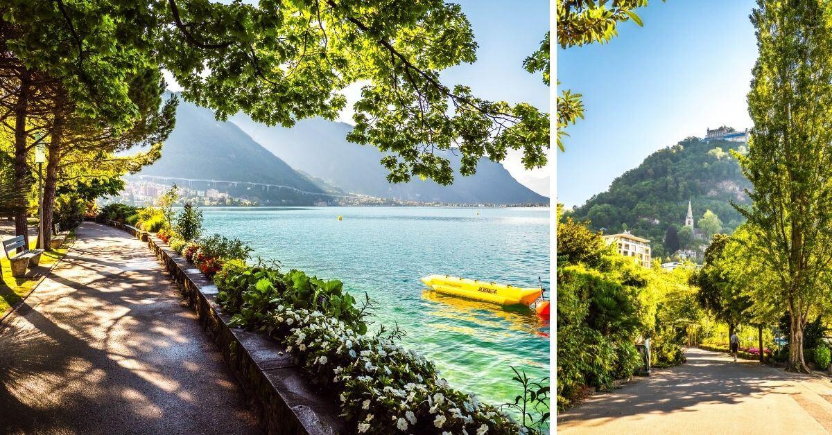 Balade sur les quais de Montreux
