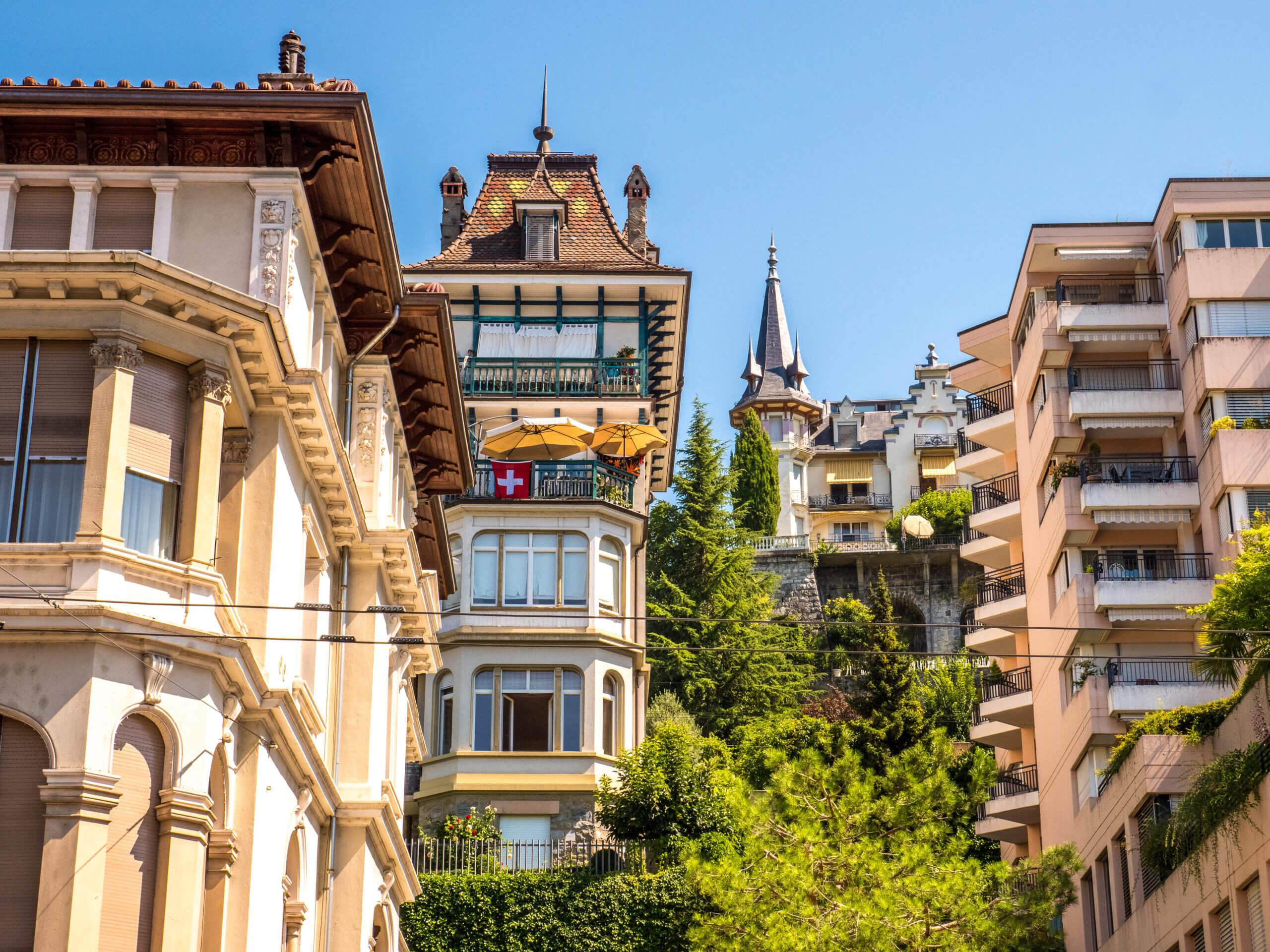 Maisons Belle Epoque de Montreux