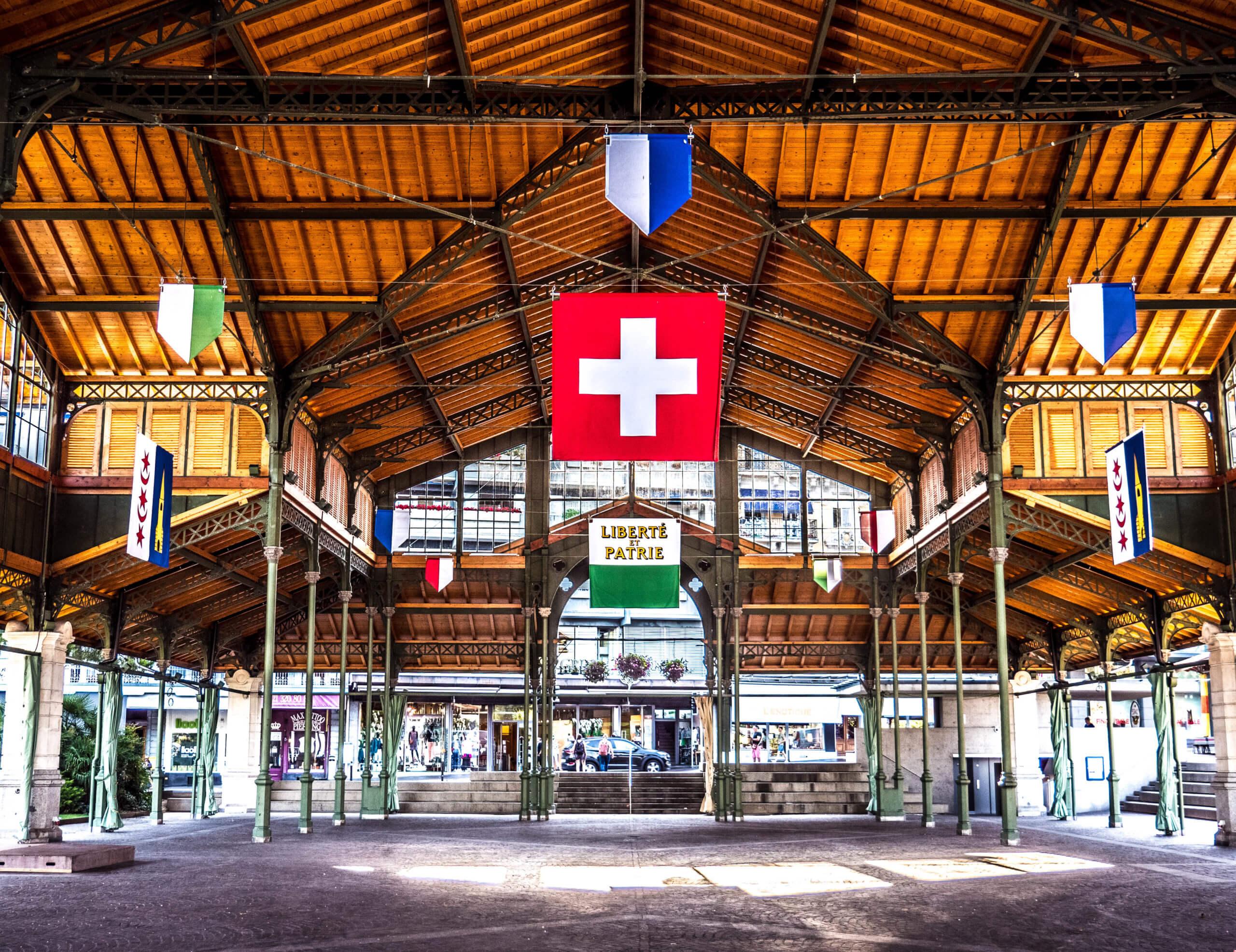 Halle des marchés couverts à Montreux