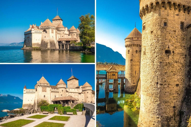 Visiter Chillon à Montreux