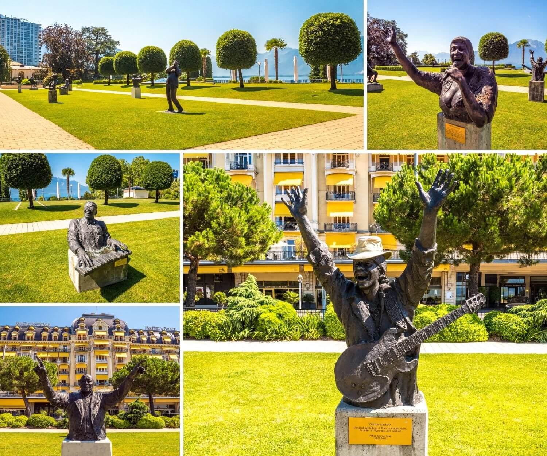 Visiter Montreux et le jardin du Fairmont Palace