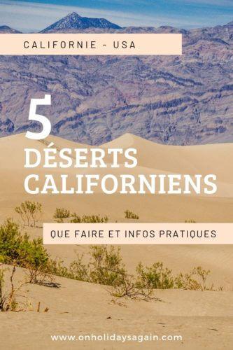 5 déserts californiens que faire et infos pratiques