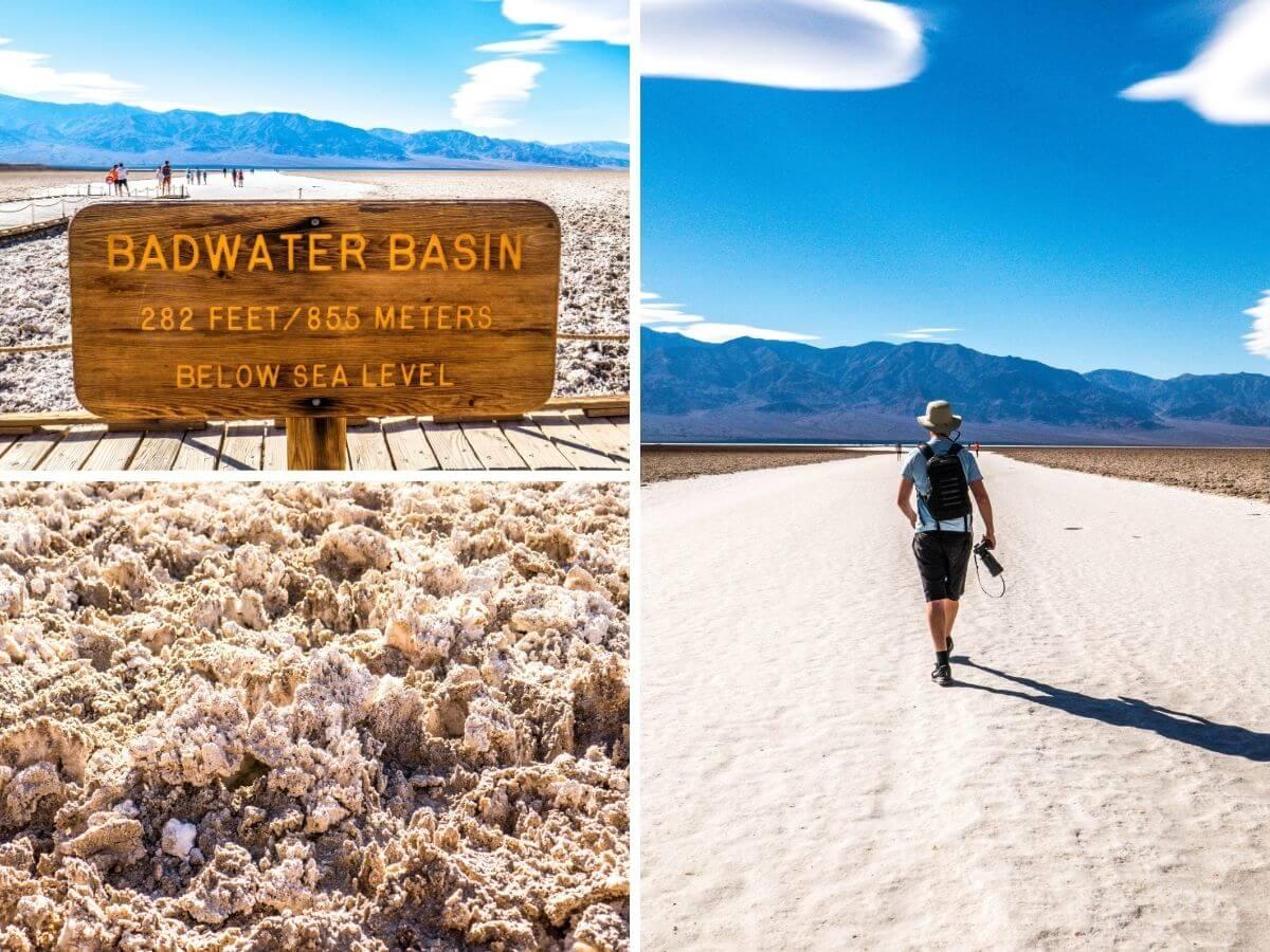 Badwater Basin désert Vallée de la Mort Californie