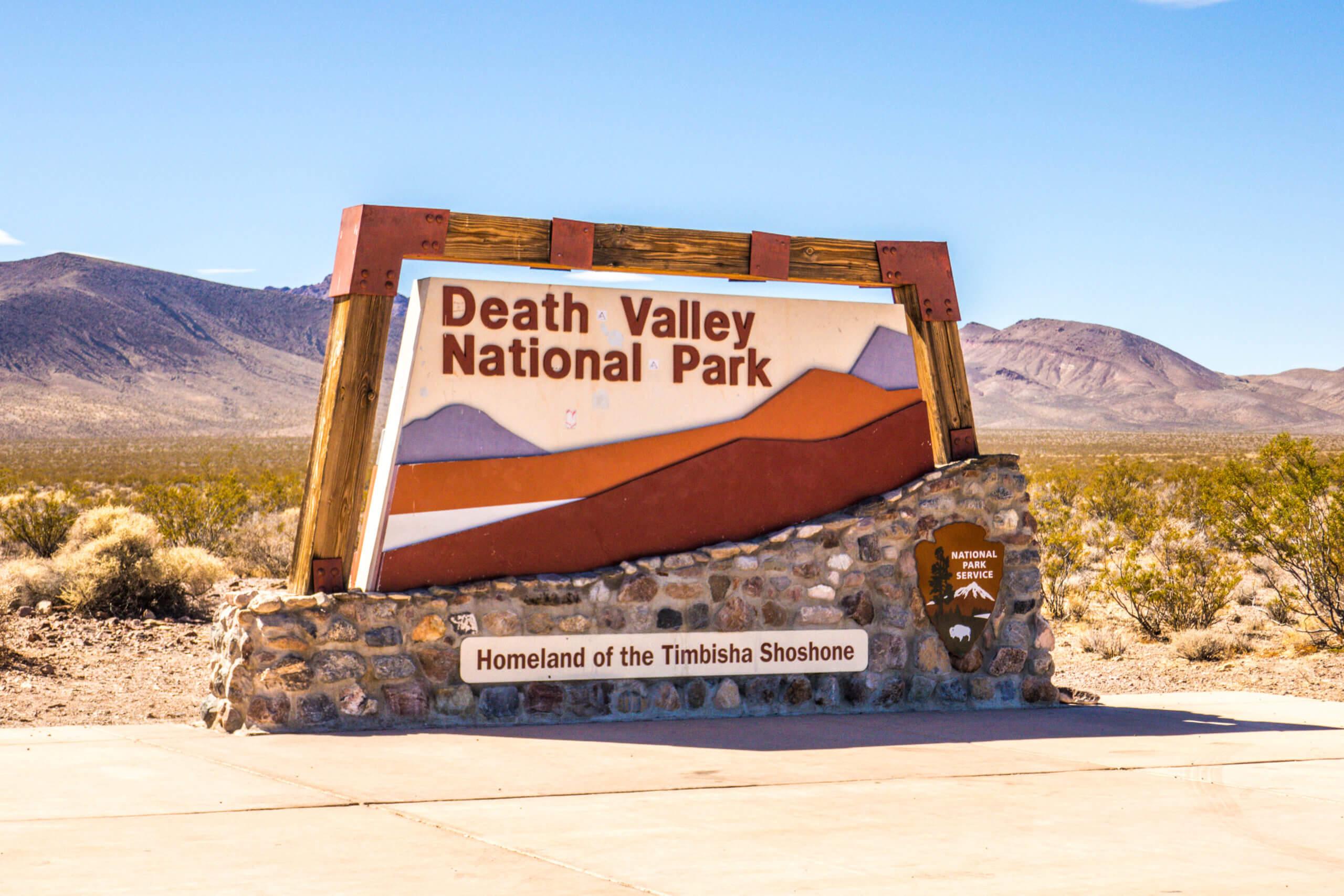 Désert californien Vallée de la Mort parc national