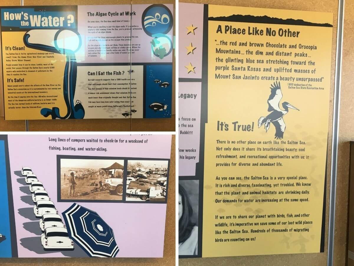 Visitor Center désert Salton Sea Californie